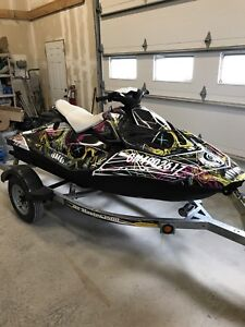 2015 Sea-Doo Spark 2 UP 90 H.P. LOW HOURS