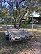 Flat deck 2 wheel trailer in great condition Samford Valley Brisbane North West Preview