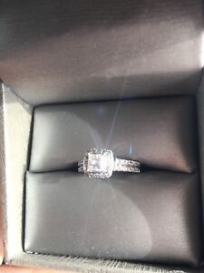 Engagement Ring (White Gold) OBO