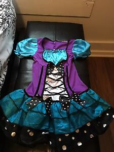 butterfly costume size 4-9