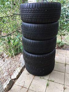 Hankook 275 40 20 RH07 Tyres x 5 Aldgate Adelaide Hills Preview