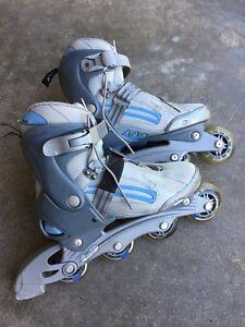Inline Skates Roller Blades, Ladies size 8.5 (EU 39) in