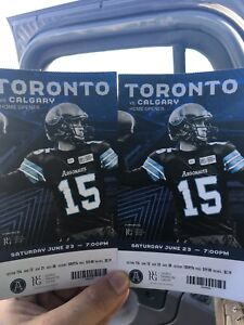 Argos tickets home opener / trade for jays tickets.