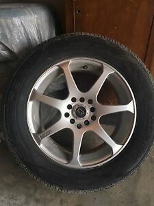 215/60r16 Tires on Core Racing Rims