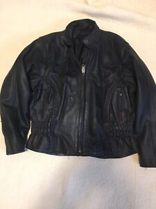Ladies Motorcycle Leathers and Rain Gear
