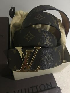 100% Authentic Louis Vuitton Men's Belt