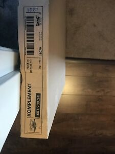 New in box Komplement shoes holder for Pax Ikea 601.209.24 stora