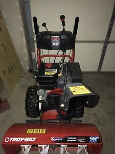 "Troy Built 28"" snowblower"