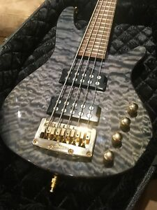 Ibanez 5 String Active Bass