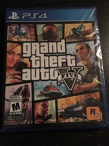 GTA5 PS4 Disc. Never Opened. Brand New!