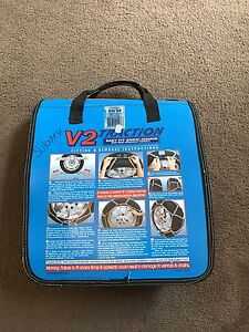 V2 Traction easy fit snow chains SIZE: KN90 Clifton Hill Yarra Area Preview