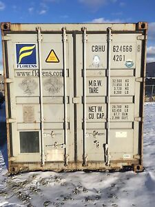 Sea Container Shipping Cans - $2250 for 8x40ft