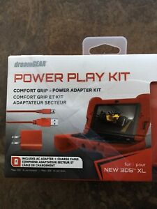 New- DreamGear Power Play Kit: Red for New Nintendo 3DS XL