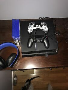PS4 great condition, selling because I don't use it