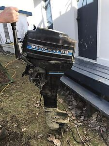 Mercury 9.8 HP Outboard Long-shaft Engine (electric start)