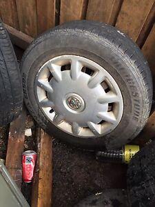 "Holden Astra 13"" rims and tyres Bundaberg Central Bundaberg City Preview"