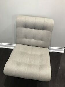 Accent Chairs with Herringbone Pattern