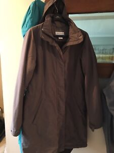 Gray Ladies winter jacket by Columbia