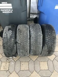 Pneus d'hiver 205/65 r15  Winter tires