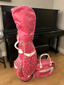 Callaway ladies golf bag & boston bag