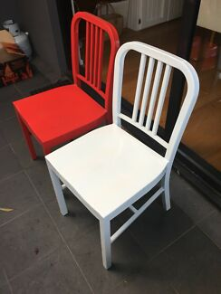 Wanted: Industrial dining chairs (x2)