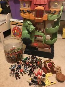 Fisher price Imaginext sound and light dragon world castle