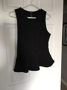 FOREVER 21 PEPLUM TOP-BRAND NEW!