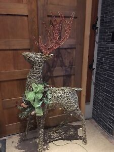 Grapevine reindeer 64 inches tall