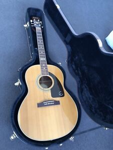 80eb64ea727 Epiphone Solid Top Acoustic w/ Hard Case