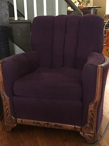 Antique Chair and Couch