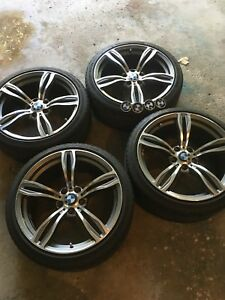 BMW M5 'REPLICA' rims with tires