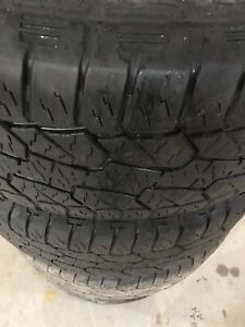 275/55R20 hankook Dynapro tires