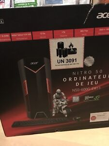 Ordinateur Acer gamer nitro 50