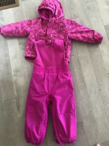 Girls size 18-24 months Columbia snow suit