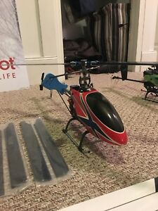 2 high end rc helicopters