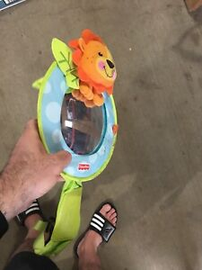 Baby driving mirror