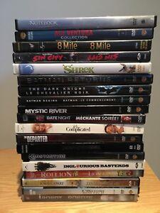 DVD à 3$ chacun
