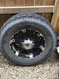 Spare tire and rim for a Ford truck. 2005-2015