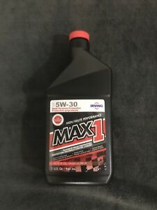 12 x 5W30 Irving Max 1 Conventional Motor Oil