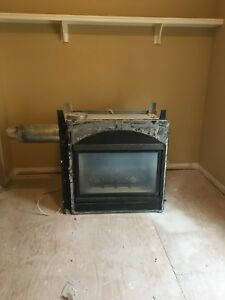 Free double sided fireplace Superior Brand