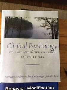 Psychology And Behaviour Modification Books