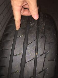 Speedy Rims and tires set of 4 Waverton North Sydney Area Preview