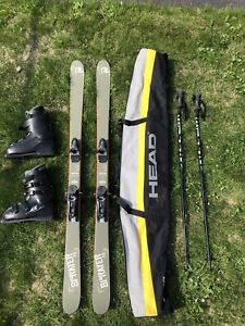 Skis twin tips Rosignol Scratch