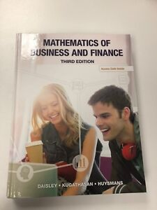 Math of business and finance third edition