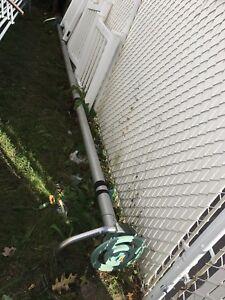 Systeme Moulinet avec tube de 16.5' pour piscine creuse