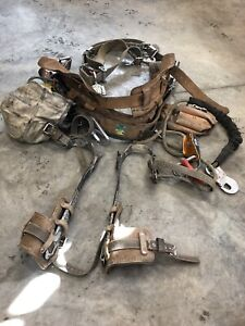 Lineman belt