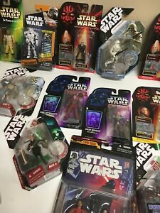 Star Wars MOC carded figures Various