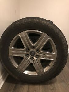 2018 Ford F-150 20inch rims with all season tires