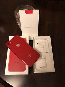 iPhone 8 64GB Unlocked, Product Red with Apple Care