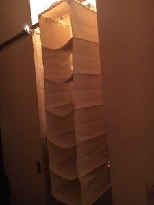IKEA heavy canvas hanging storage